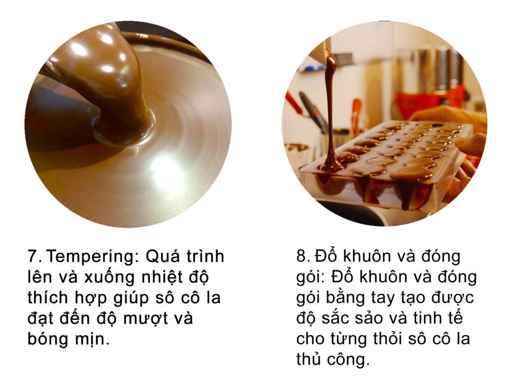 Quy trình sản xuất socola, chocolate 4